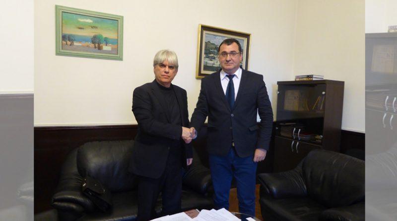 """Председателят на УС на Сдружение """"Български музеи"""" се срещна с председателя на Комисията по културата и медиите  Славчо Атанасов"""
